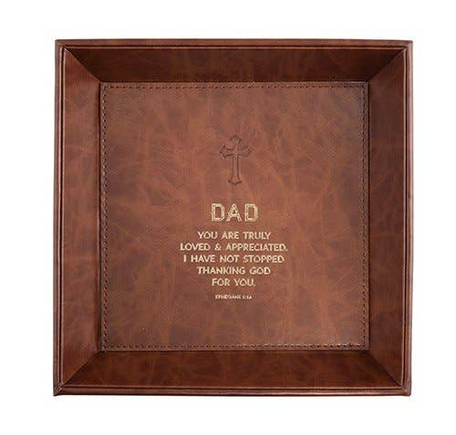 """Dad"" Table Top Tray Eph 1:16"