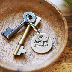 Love You Grandparent Keychain- Grandad