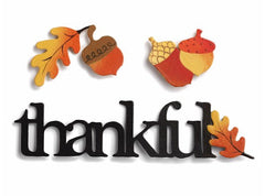 """Thankful"" Fall Embellishment"