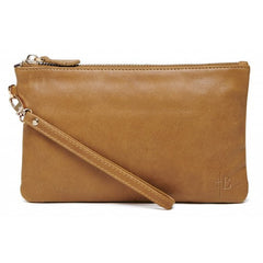 HButler - Wristlet Almond Brown