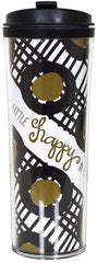 Coton Colors Happy Everything 16 oz Travel Mug Stringo
