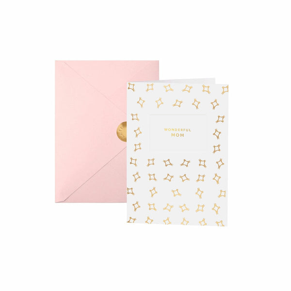WORDS ARE GOLDEN GREETING CARDS | WONDERFUL MOM