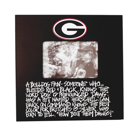 Game Day- Univ. of Georgia (UGA) Picture frame