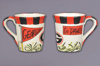 Game Day- Univ. of Georgia Ceramic Coffee Mug