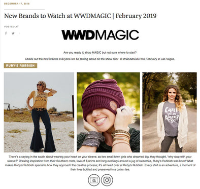 New Brands to watch at WWDMAGIC in February