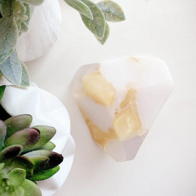 Gold in Quartz | Soap Rock | Rubies & Lace