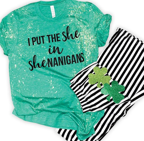 I Put the She in Shenanigans | Women's T-Shirt | Ruby's Rubbish®