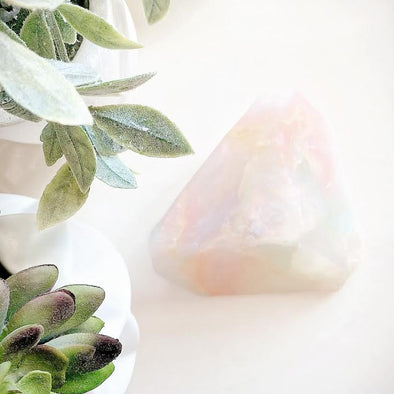 White Opal | Soap Rock | Rubies & Lace