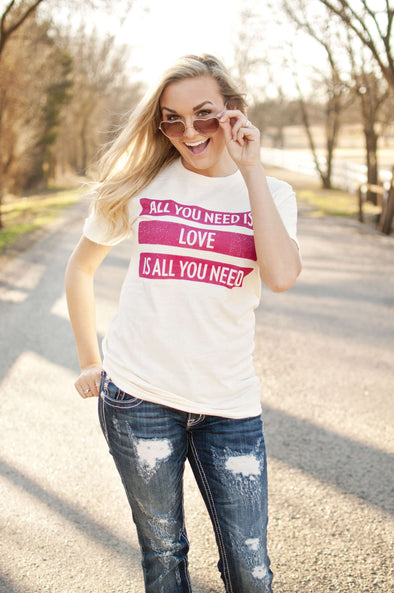 All You Need is Love | Women's T-Shirt | Ruby's Rubbish®