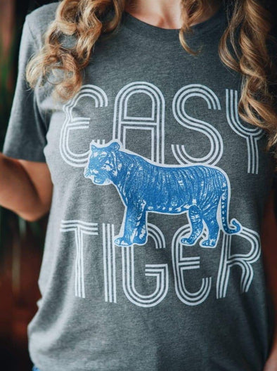 Easy Tiger | Funny T-Shirt | Ruby's Rubbish®
