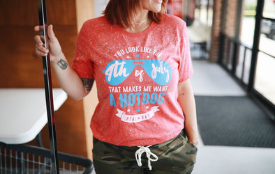 You Look Like the 4th of July | Funny T-Shirt | Ruby's Rubbish®