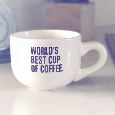 World's Best Cup Of Coffee - Coffee Cup - Ruby's Rubbish