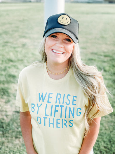 We Rise By Lifting Others | Women's T-Shirt | Ruby's Rubbish®
