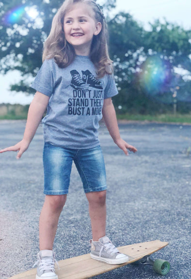 Don't Just Stand There Bust a Move | Kid's T-Shirt | Ruby's Rubbish®