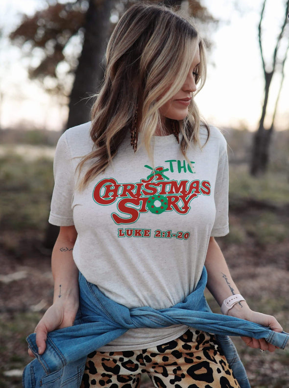 The Christmas Story | Seasonal T-Shirt | Ruby's Rubbish®
