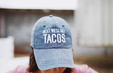 Next We'll Get Tacos | Vintage Hat | Ruby's Rubbish®