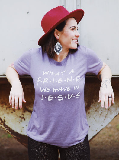 What a Friend | Christian T-Shirt | Ruby's Rubbish®