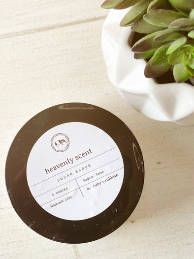 Heavenly Scent | Sugar Body Scrub | Ruby's Rubbish®