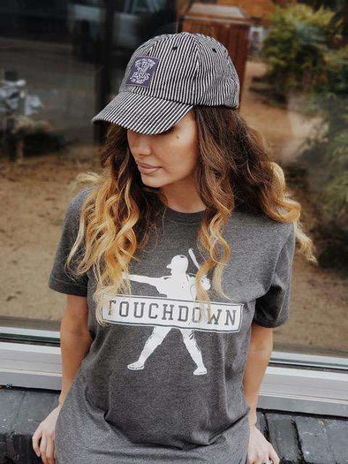 Touchdown (Baseball Player) | Southern T-Shirt | Ruby's Rubbish®
