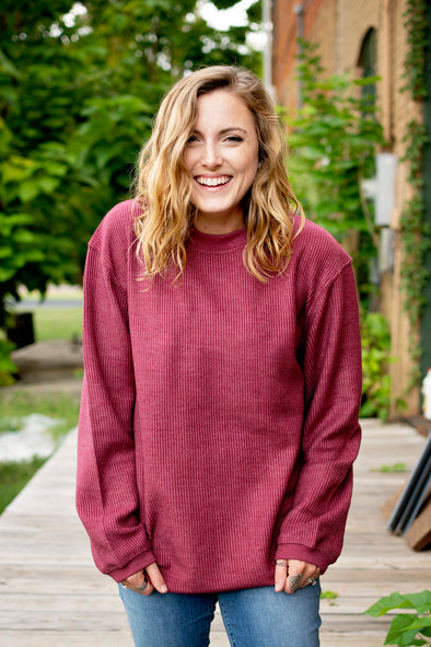 Corded Pullover | Ruby's Rubbish®