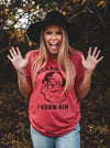 SAAAANTA! I Know Him | Seasonal T-Shirt | Ruby's Rubbish®