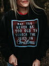 Search the Skies on Christmas | Seasonal Sweatshirt | Ruby's Rubbish®