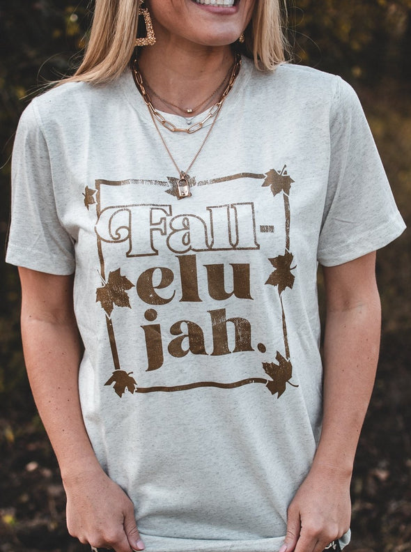 Fall-elujah | Seasonal T-Shirt | Ruby's Rubbish®