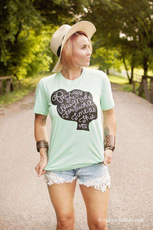 Perhaps She Was Made | Christian T-Shirt | Ruby's Rubbish®