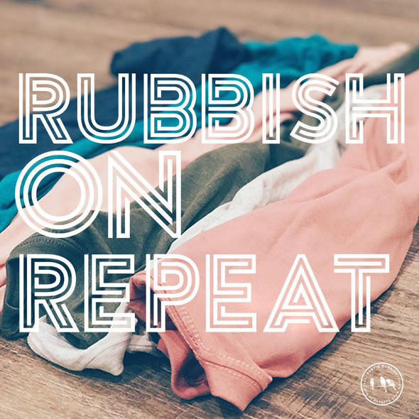 Rubbish on Repeat SUBSCRIPTION Tee | Ruby's Rubbish®