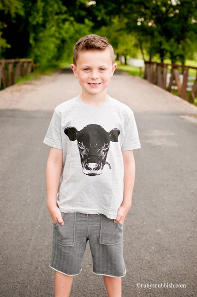 Show Cow - Kids T-Shirt - Ruby's Rubbish
