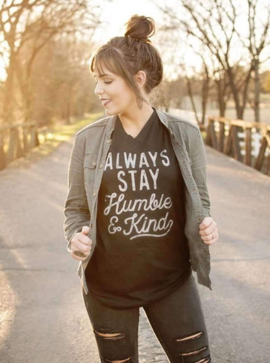 Always Stay Humble & Kind | Southern T-Shirt | Ruby's Rubbish®
