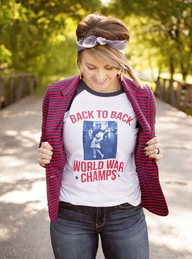 Back to Back World Champs | Seasonal Raglan | Ruby's Rubbish®