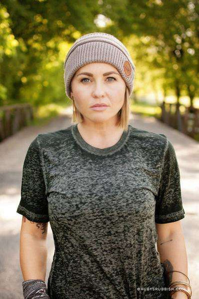Taupe Beanie | Ruby's Rubbish®