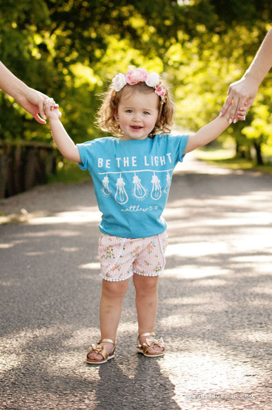 Be The Light - Kid's T-Shirt - Ruby's Rubbish
