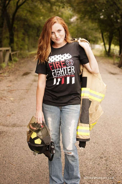 Firefighter | Southern T-Shirt | Ruby's Rubbish®