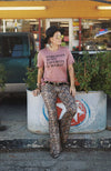 Snake Skin Bells | Women's Bell Bottoms | Ruby's Rubbish®