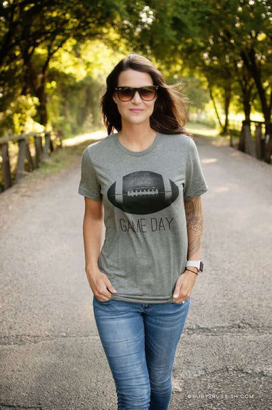 Game Day Football | Game Day T-Shirt | Ruby's Rubbish®
