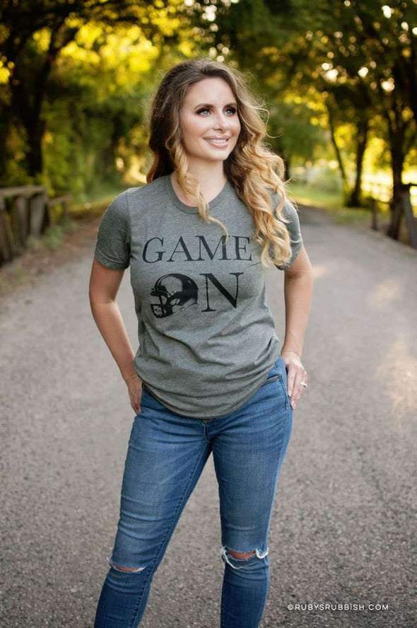 Game On | Game Day T-Shirt | Ruby's Rubbish®
