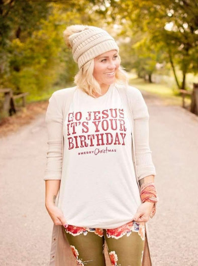 Go Jesus it's Your Birthday | Seasonal T-Shirt | Ruby's Rubbish®