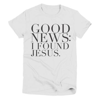 Good News | Christian T-Shirt | Ruby's Rubbish®