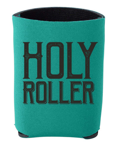 Holy Roller | Teal Koozie | Ruby's Rubbish®