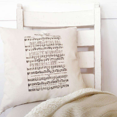 How Great Thou Art | Canvas Pillow Cover | Ruby's Rubbish®