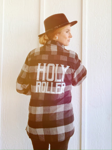 Holy Roller | Women's Flannel | Ruby's Rubbish®