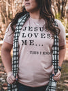 Jesus Loves Me | Christian T-Shirt | Ruby's Rubbish®