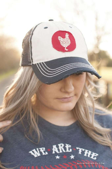 Life is Better with Chickens Around | Hat | Ruby's Rubbish®