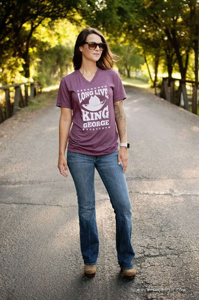 Long Live King George | Southern T-Shirt | Ruby's Rubbish®
