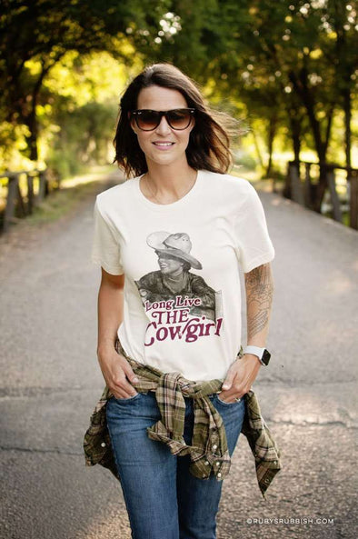 Long Live the Cowgirl | Women's T-Shirt | Ruby's Rubbish®