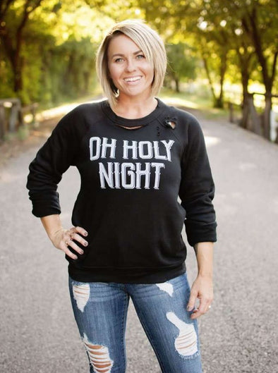 Oh Holy Night | Seasonal Sweatshirt | Ruby's Rubbish®