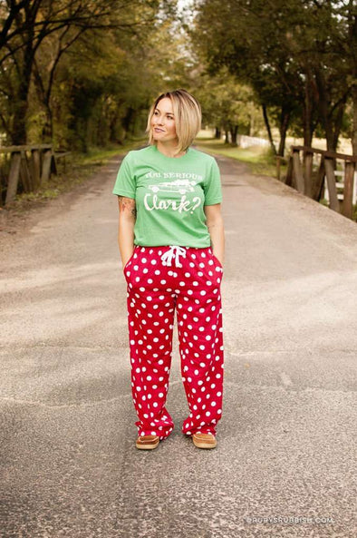 You Serious Clark? | Seasonal Pajama Set | Ruby's Rubbish®