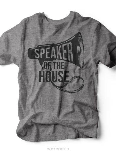 Speaker of the House | Kid's T-Shirt | Ruby's Rubbish®